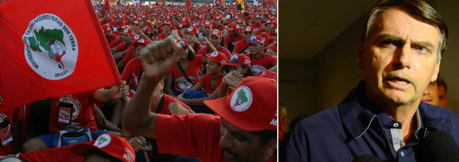 Bolsonaro dá mais um passo: compara MST e MTST ao PCC e Comando Vermelho