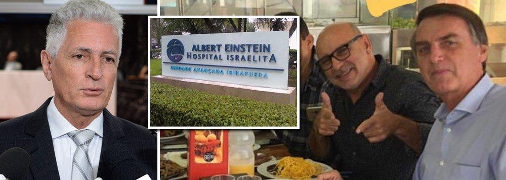 Após Queiroz sambar na cara dos brasileiros, deputado pede CPI do Einstein