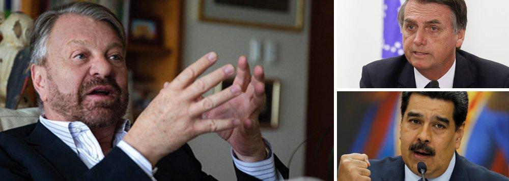 Jorge Castañeda avisa: teremos 'Bolsonaro versus Maduro'