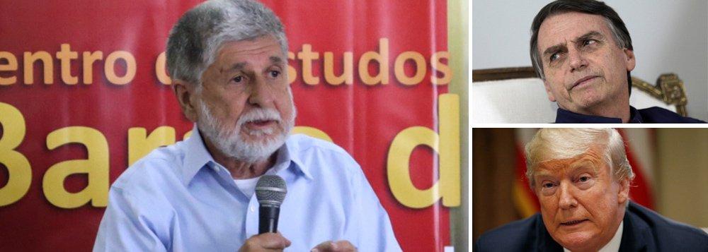 Amorim questiona Bolsonaro: que nacionalismo é esse?