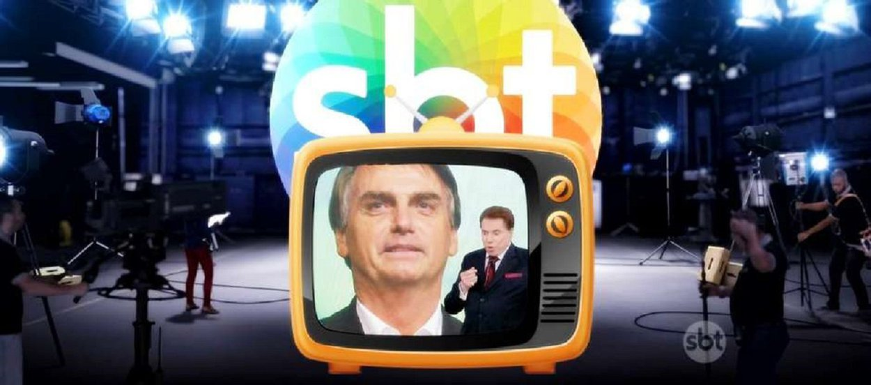 SBT agora é a TV extraoficial do clã Bolsonaro