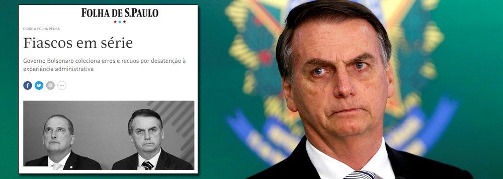 Fiascos em série do governo Bolsonaro são ode ao constrangimento