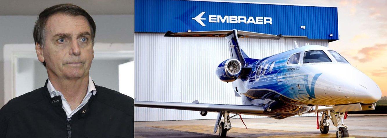 Agência de risco vê Embraer mais fraca após entrega para a Boeing