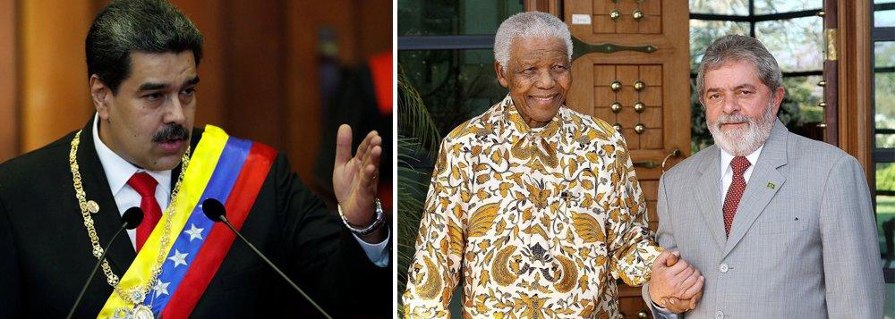 Maduro: Lula é o Mandela brasileiro