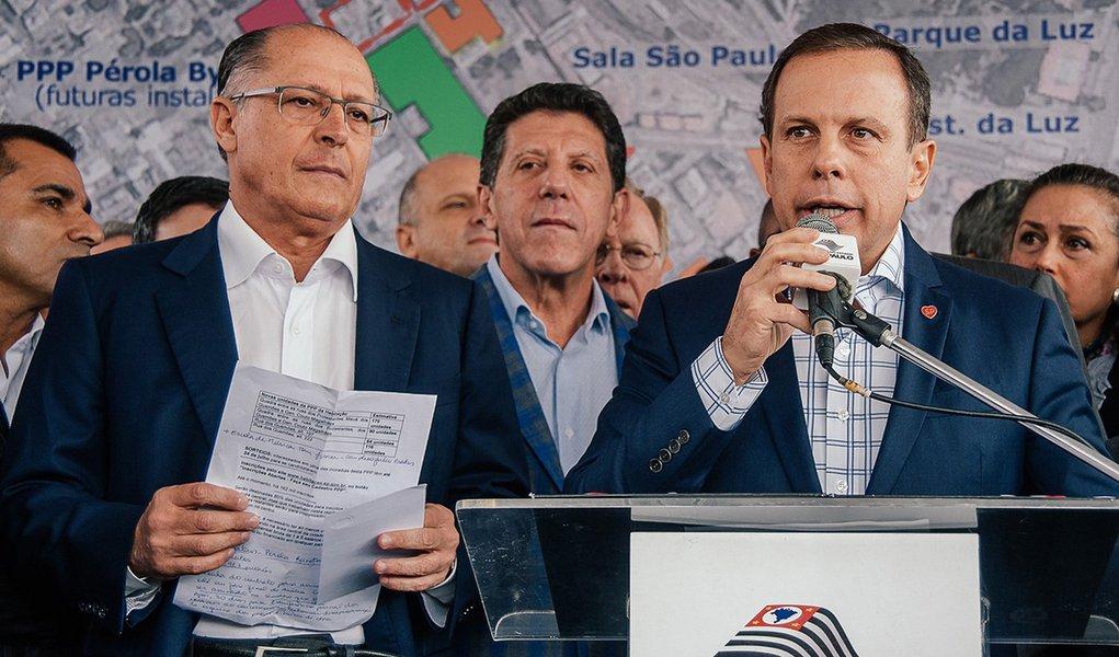 Aliança entre Doria e Bolsonaro é o canto do cisne dos tucanos