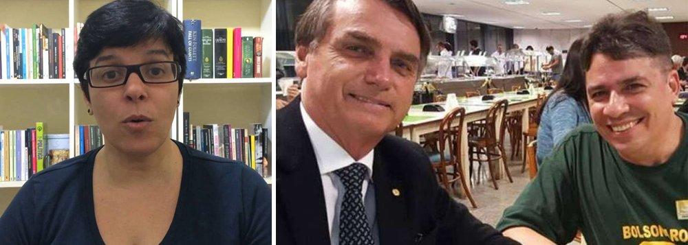 Acabou a mamata?, questiona Ivone Pita após Bolsonaro promover amigo