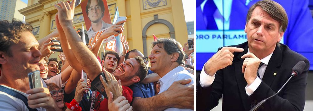 Nesta eleição vamos disputar um modelo de democracia para o Brasil