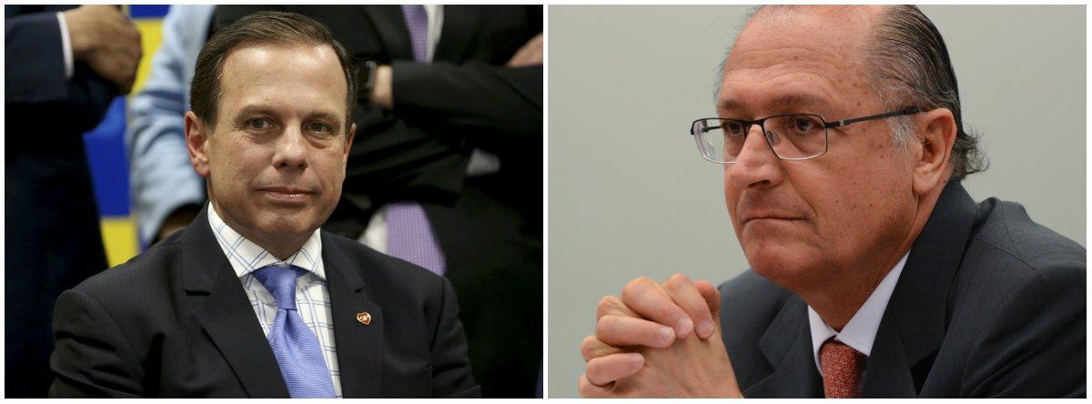 Tijolaço: traição de Dória a Alckmin enterra a ambos
