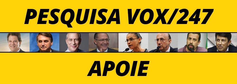 247 fará sua primeira pesquisa presidencial com Vox Populi