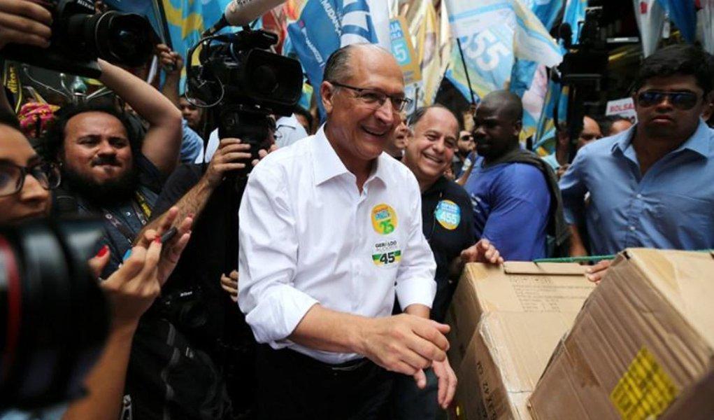 Alckmin: mudanças de voto acontecem na reta final da campanha