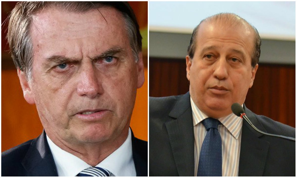 """Bolsonaro recebeu o """"encrencado"""" Nardes para """"falar de governança"""""""