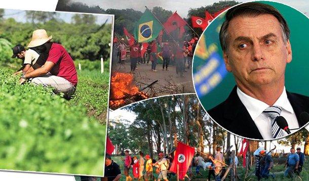 Governo Bolsonaro manda parar reforma agrária