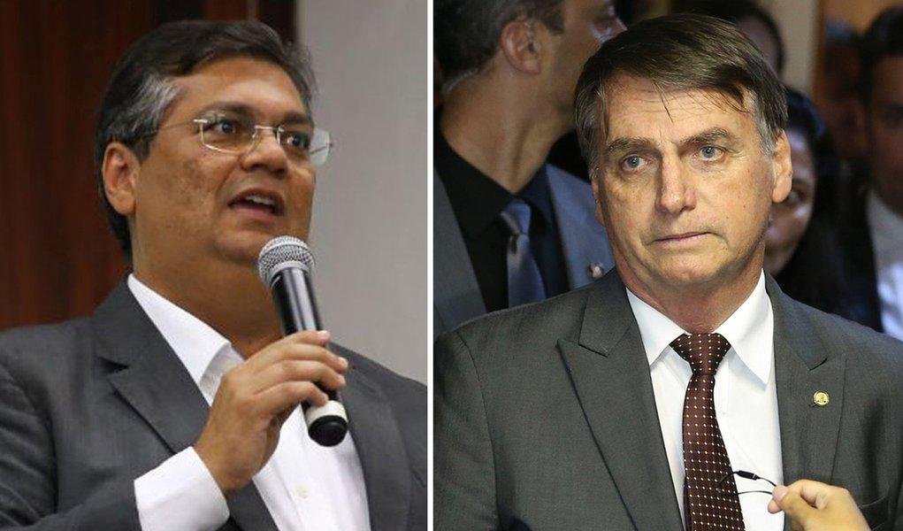 """Resultado de imagem para flávio dino e bolsonaro"""""""