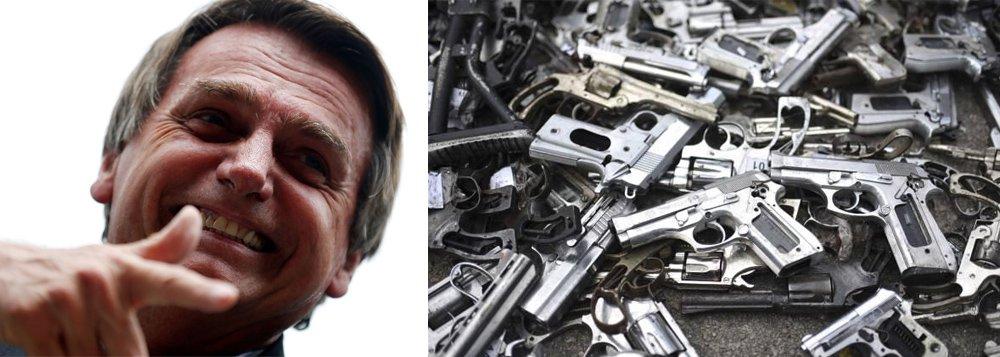 Bolsonaro vai liberar duas armas por pessoa