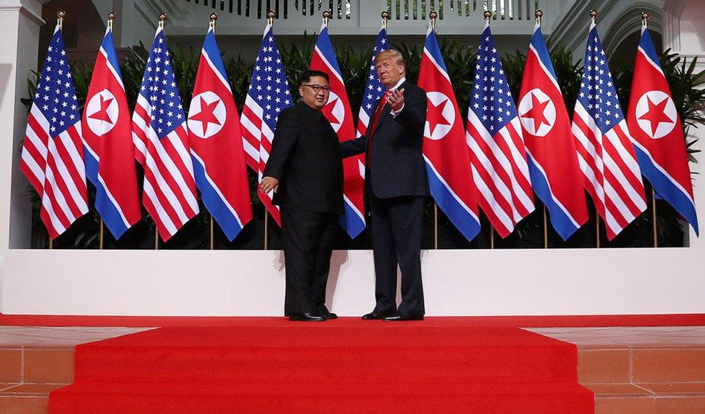 Coreia do Norte envia emissário aos EUA para preparar cúpula Kim-Trump