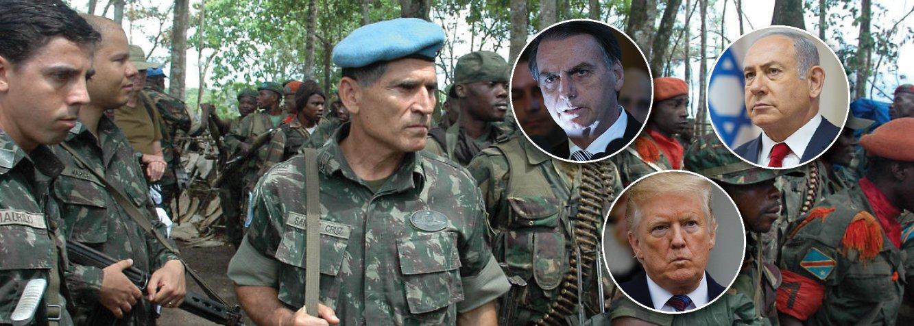 Mais um general desautoriza Bolsonaro sobre embaixada em Jerusalém