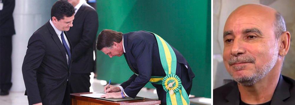 Moro e Bolsonaro impõem censura ao Coaf