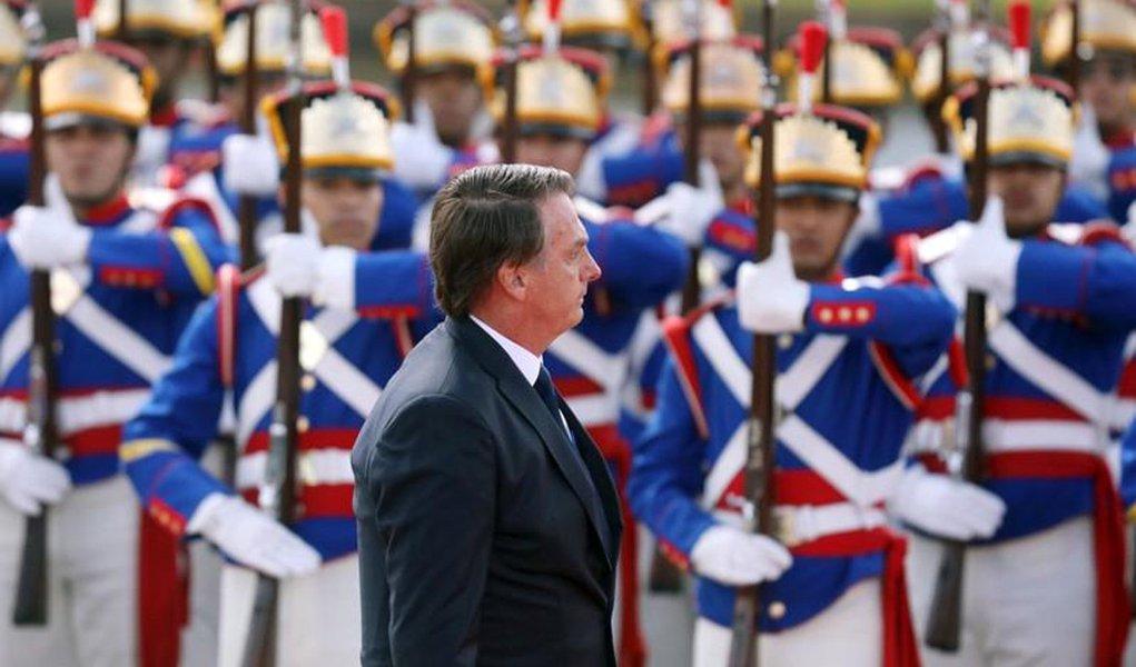 Discursos de Bolsonaro confirmam ditadura civil-militar no Brasil