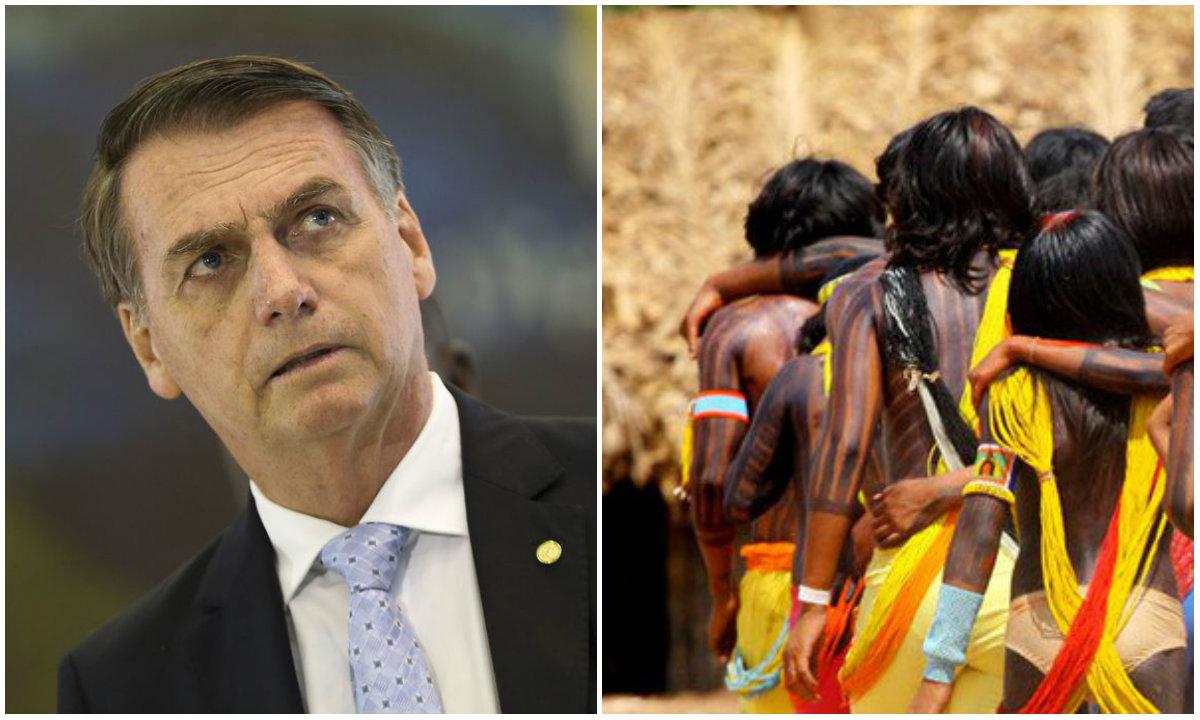 Bolsonaro-índios
