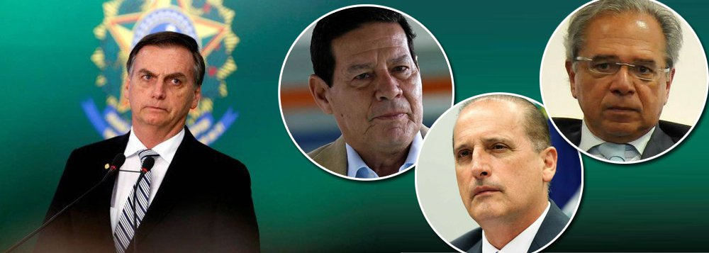 Ameaças dão o clima na formação do governo Bolsonaro