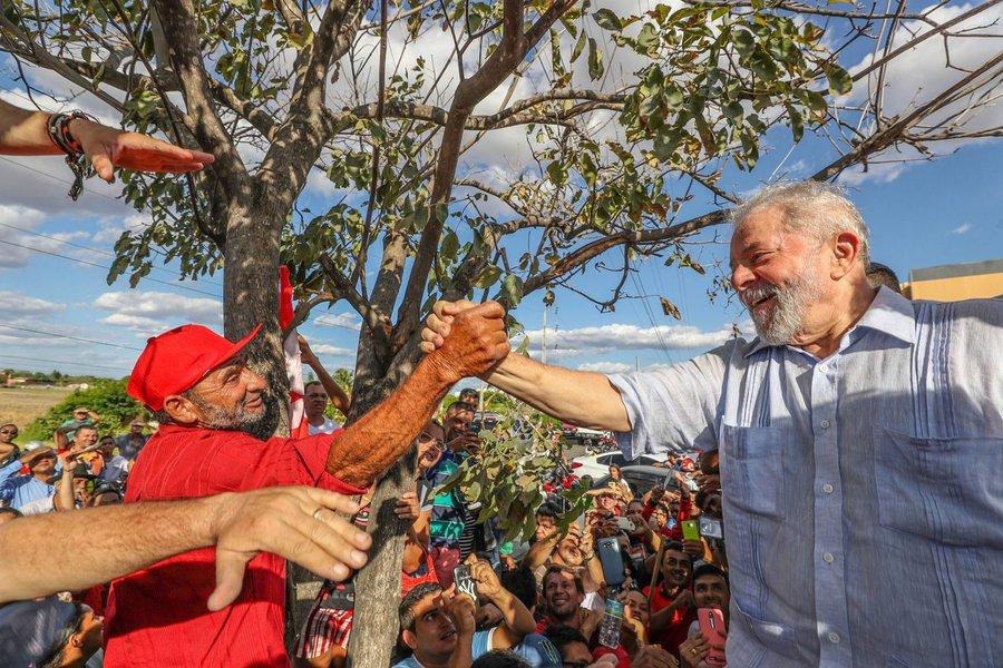 Lula lembra do tempo em que o salário subia e o trabalhador melhorava de vida