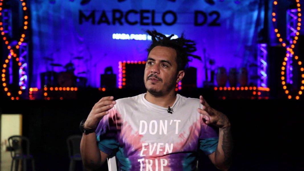 Marcelo D2: quer me xingar? Me chama de Bolsonaro!