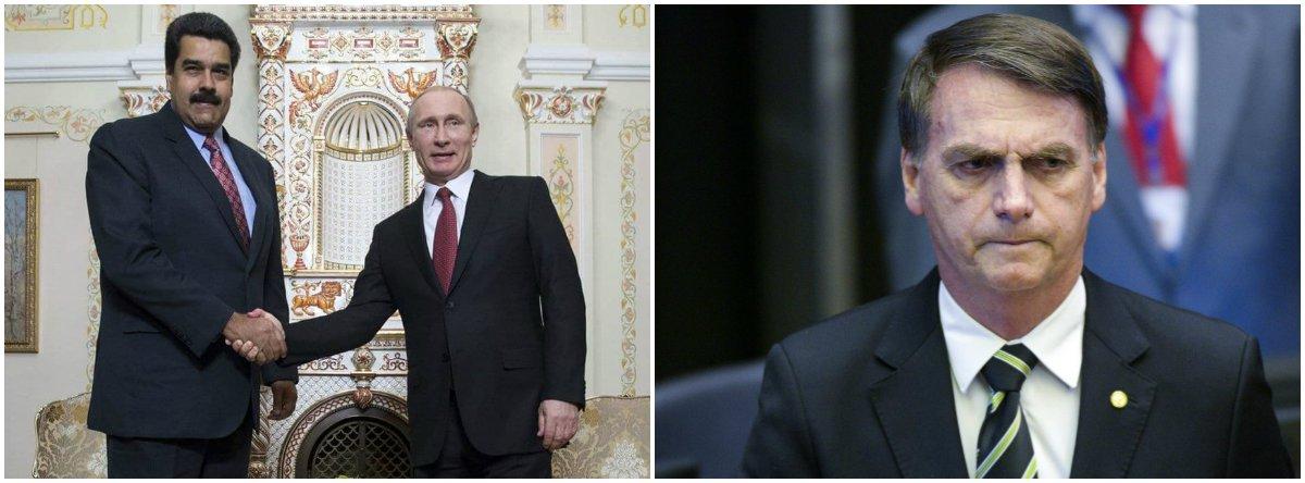 Rússia anuncia mais apoio militar à Venezuela