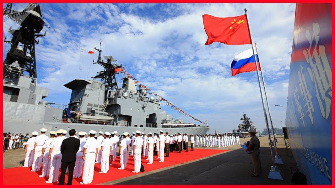 China e Rússia reforçarão cooperação militar