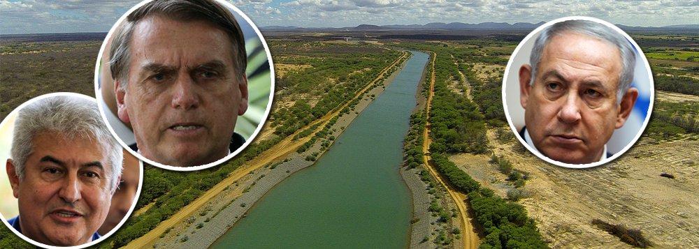 Com a transposição pronta, Bolsonaro anuncia obra hídrica no Nordeste com Israel