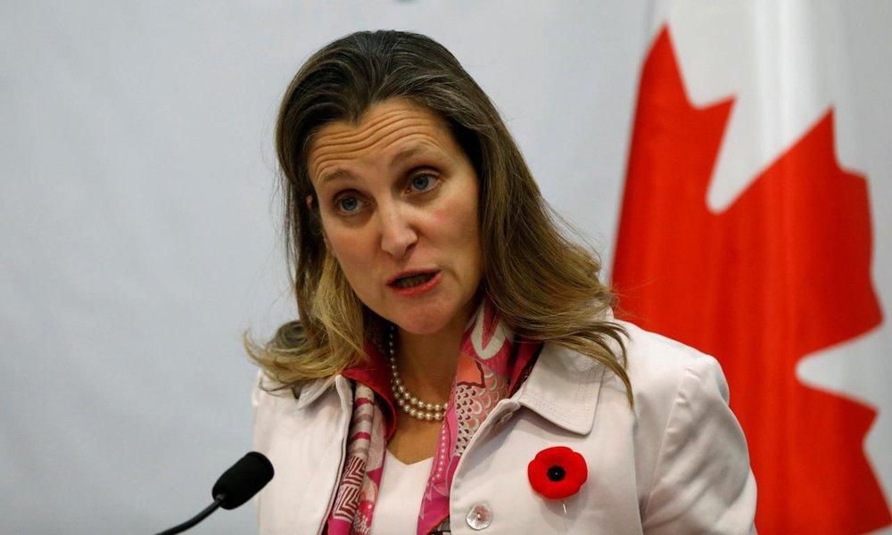 China se opõe à libertação de cidadãos canadenses