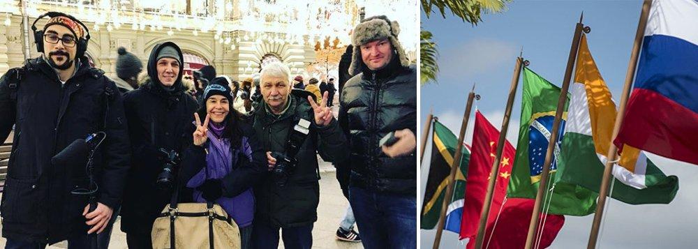 Atriz Lucélia Santos se torna embaixadora da TV BRICS