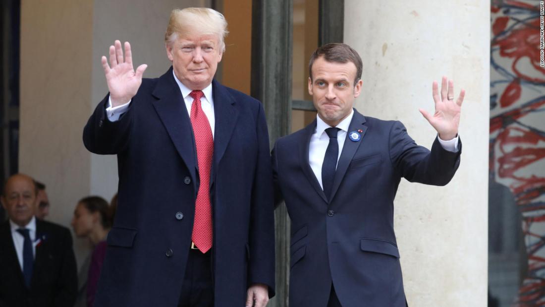 Macron alfineta Trump: 'um aliado deve ser confiável'