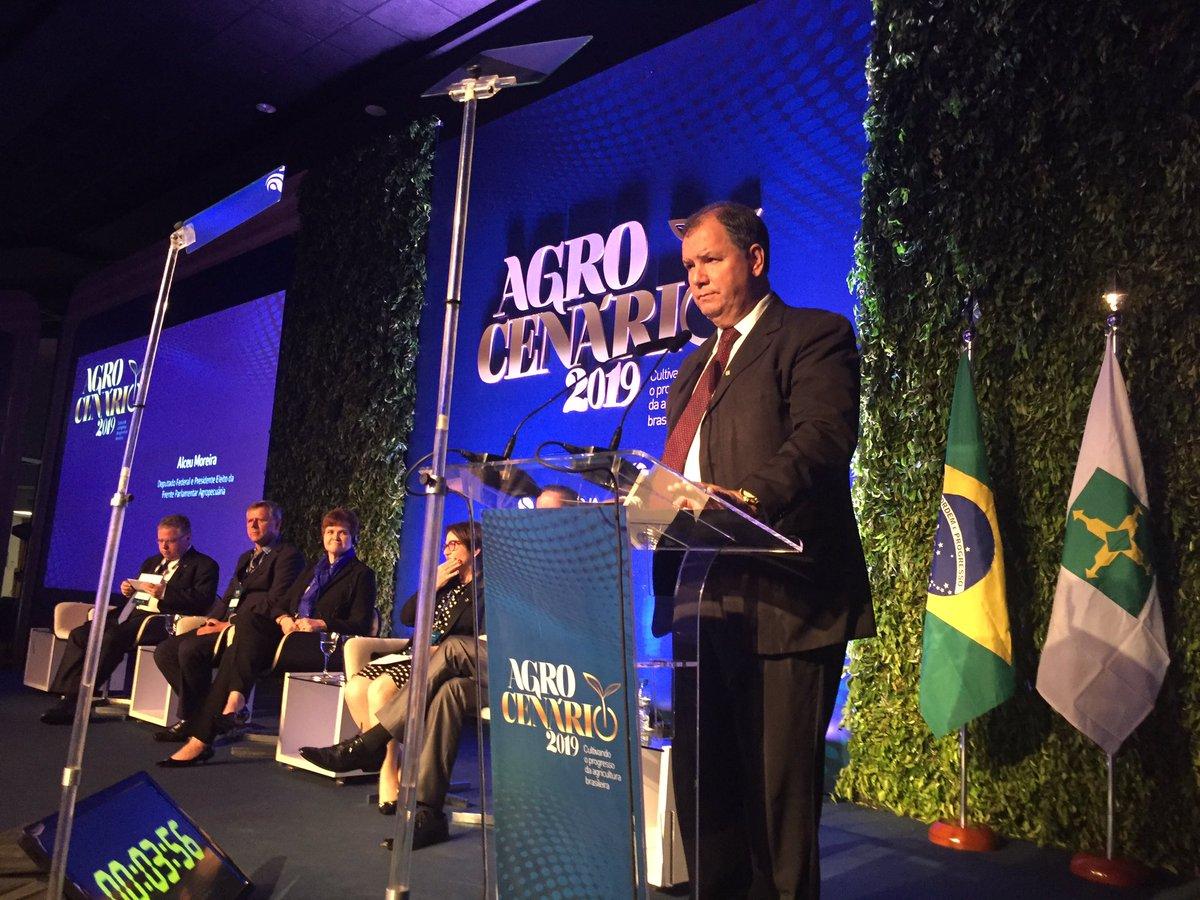 Alceu Moreira inicia ofensiva legislativa do agronegócio