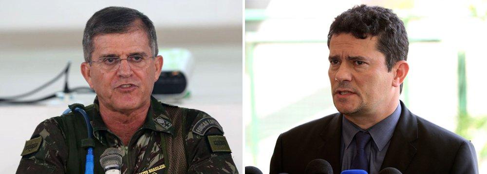 General da equipe de Moro quer vilas policiais e armas para tropas de elite