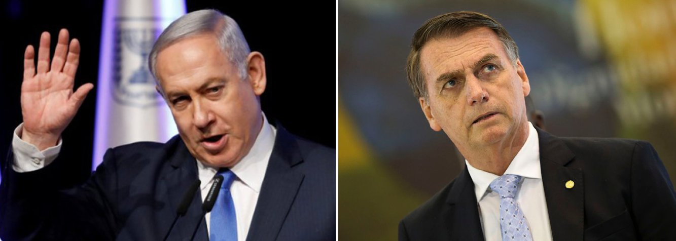 Bolsonaro vai receber Netanyahu no Forte de Copacabana