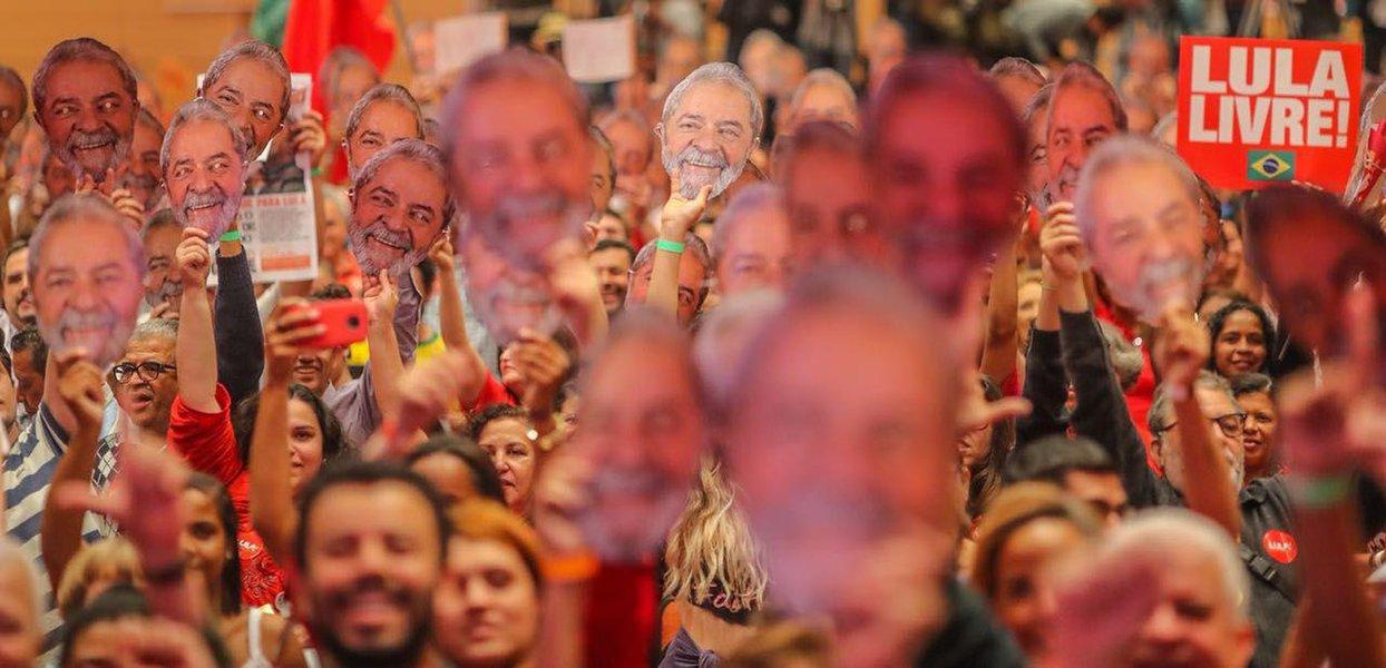 Encontro Lula Livre abre nova etapa na luta por democracia plena