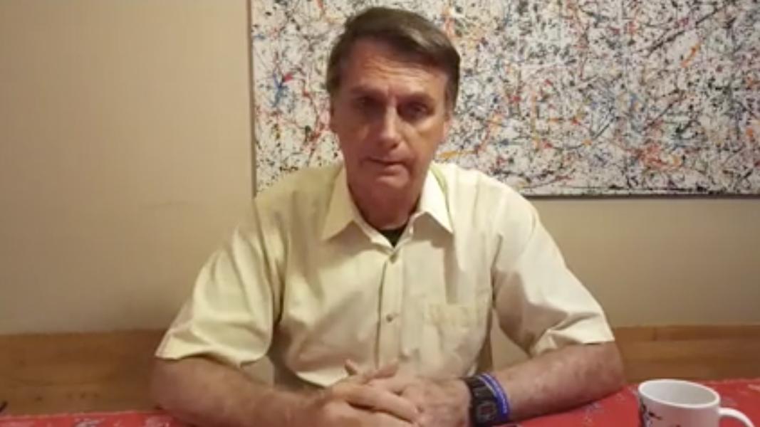 """Bolsonaro diz que, após empossado, a """"barra vai ser pesada"""""""