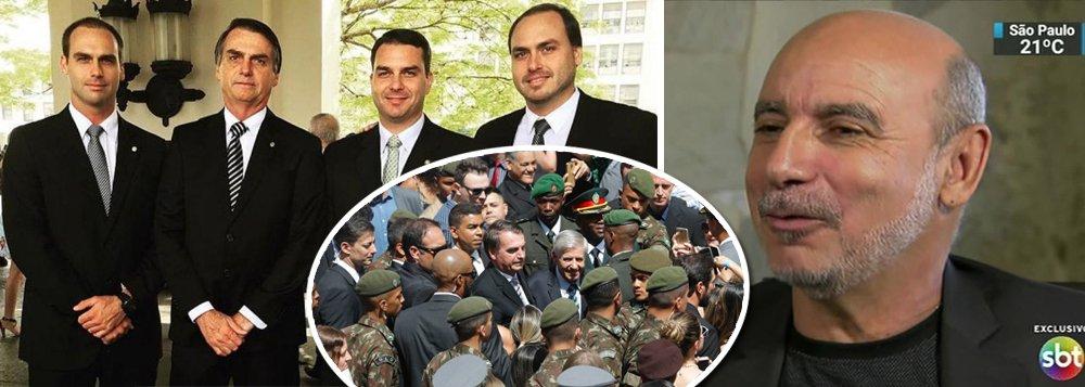 Militares não acreditaram em Queiroz e querem filhos de Bolsonaro mais maduros