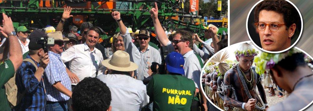 Governo Bolsonaro assume de vez a agenda ruralista