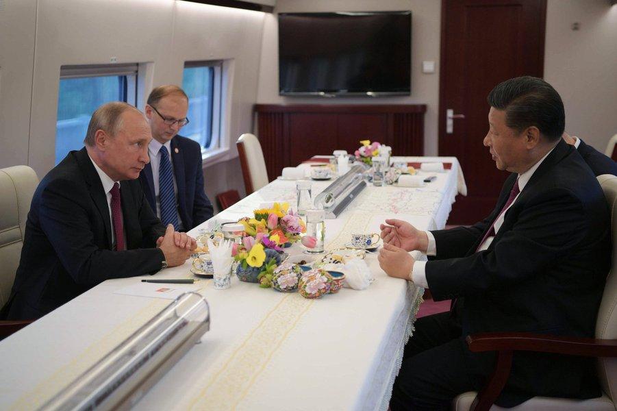 China e Rússia intensificarão relações de alto nível em 2019