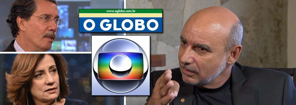 Queiroz também não convenceu a Globo, que mantém Bolsonaro sob pressão