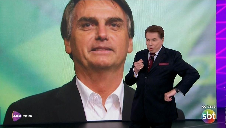Nas redes, SBT vira Sistema Bolsonaro de Televisão