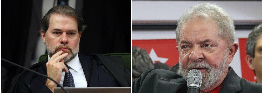 Horas decisivas: liberdade de Lula nas mãos de Toffoli