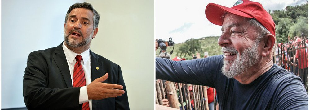 """Pimenta: """"Lula livre já!"""""""
