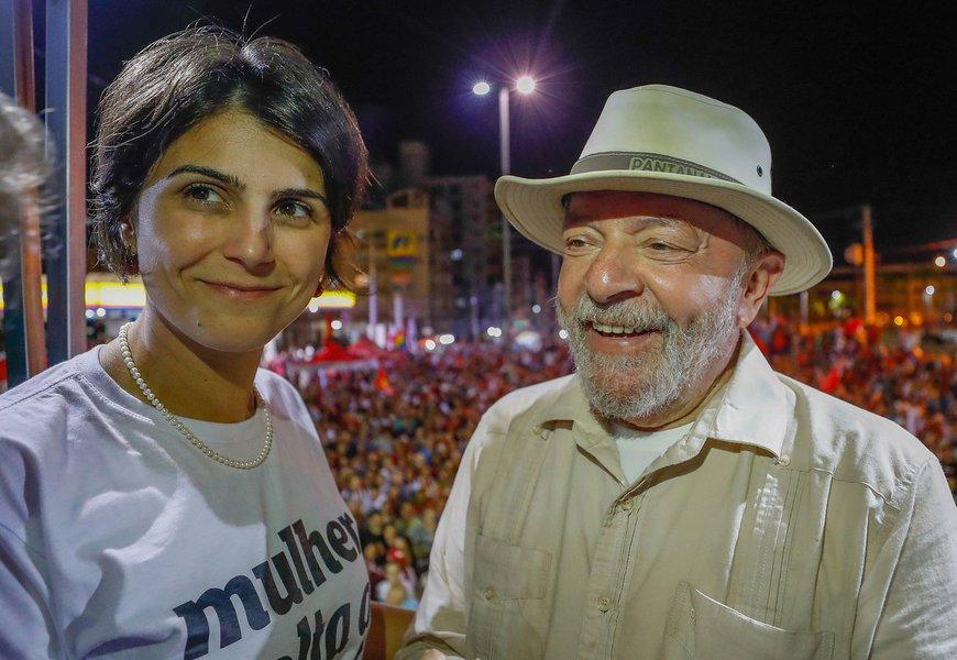 Manuela: a liberdade de Lula é a liberdade do nosso país