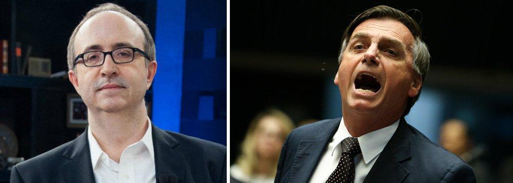 Reinaldo classifica como 'piada' fala de Bolsonaro sobre imigrantes