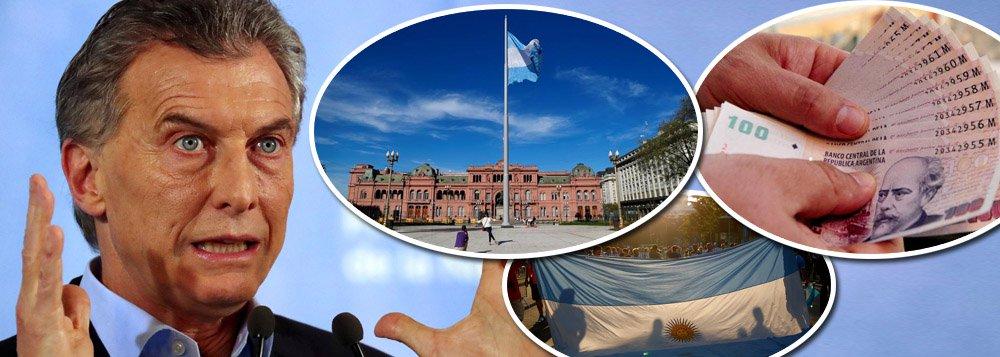 Argentina do neoliberal Macri cai em recessão; PIB desaba 3,5%