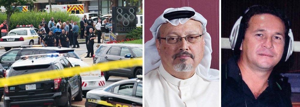Jornalistas assassinados chegam a 34 em 2018