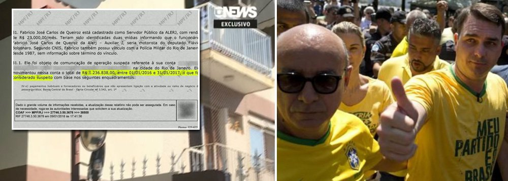 Ex-motorista de Bolsonaro, que movimentou R$ 1,2 milhão, tem apenas dois apartamentos simples