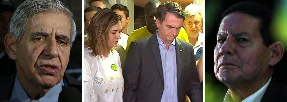 General Heleno diz que é falsa notícia sobre remoção de obras, confirmada por Mourão